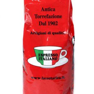koffiebonen espresso italiano rosso